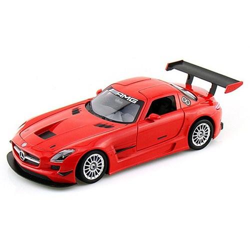 Motormax 1:24 Mercedes-Benz Sls Amg Gt3 -Kırmızı Model Araba