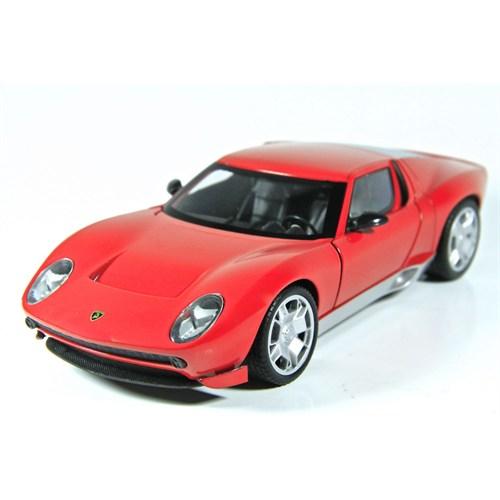 Motormax 1:24 Lamborghini Miura Concept -Kırmızı Model Araba