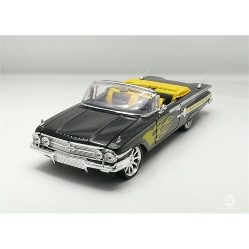 Motormax 1:18 1960 Chevy Impala -Siyah Model Araba
