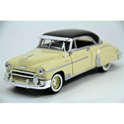 Motormax 1:24 1950 Chevy Bel Air -Krem Model Araba