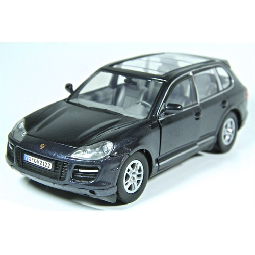 Motormax 1:24 Porsche Cayenne Turbo -Siyah Model Araba
