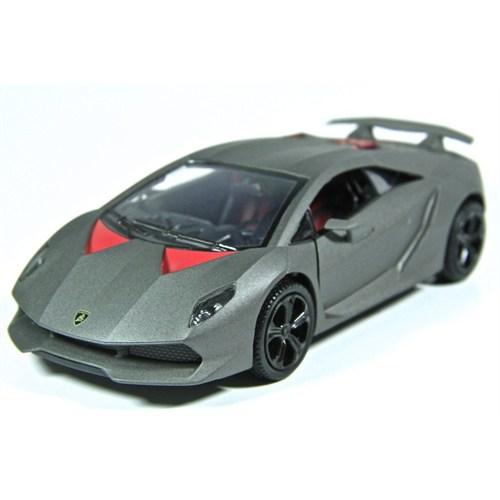 Motormax 1:24 Lamborghini Sesto Elemento -Gri Model Araba