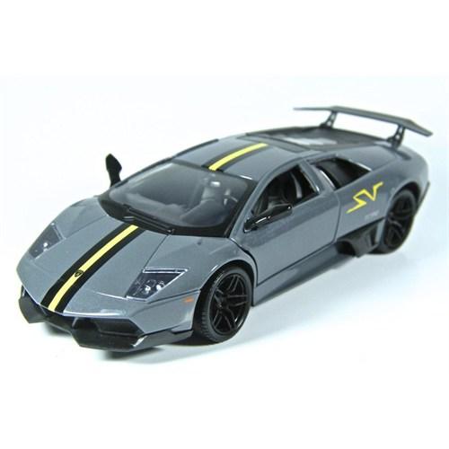 Motormax 1:24 Lamborghini Murcielago Lp 670 Sv -Gri Model Araba