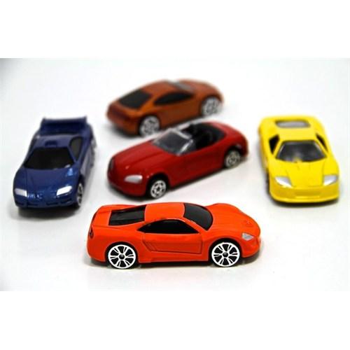 Motor Max 5'Li Araba Seti A (1:64 Ölçek)