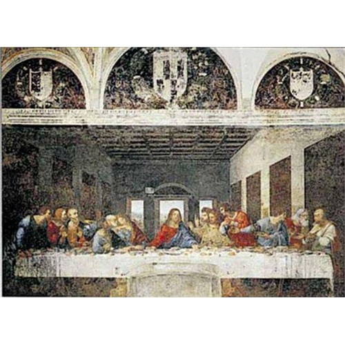 Ricordi Puzzle Ultima Cena-The Last Supper, da Vinci (1000 Parça)