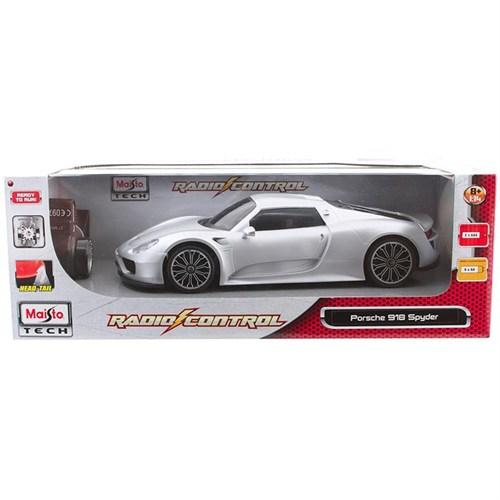 Maisto Tech Porsche 918 Spyder Uzaktan Kumandalı Araba 1:14 Gri