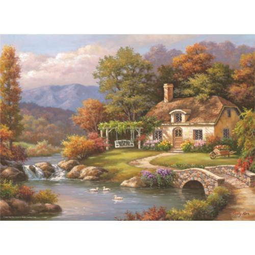 Anatolian Kır Evi / Cottage Stream