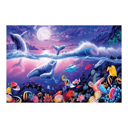 Masterpieces Puzzle Tropical Moonlight (1000 Parça)