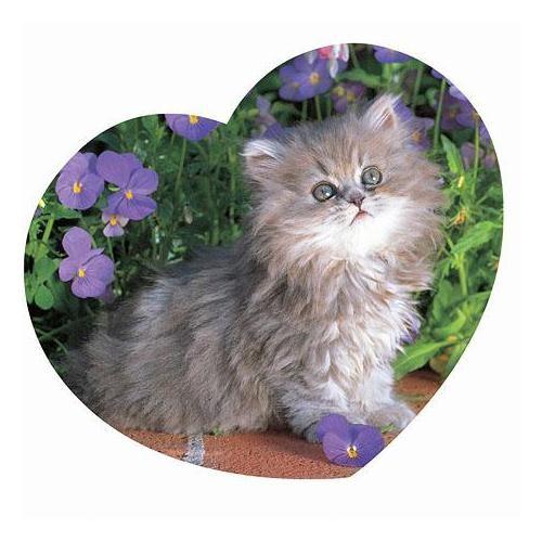 Masterpieces Puzzle Cuddle Me Kitty (500 Parça)