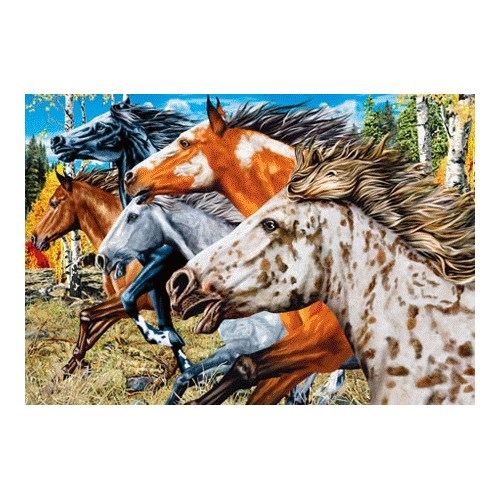 Masterpieces Puzzle Wild And Free (500 Parça)