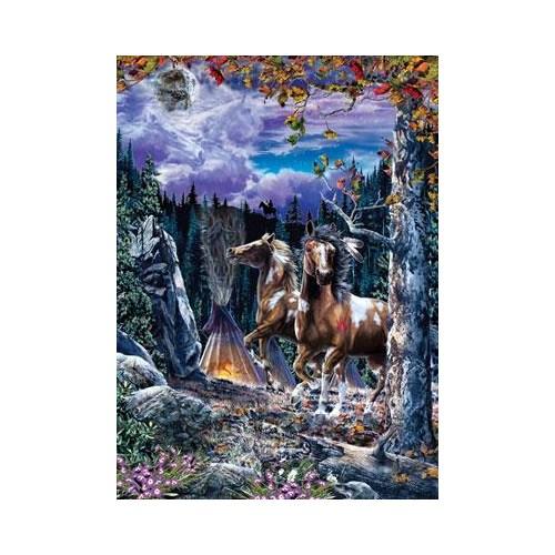Masterpieces Puzzle Spirit Dancers (1000 Parça)