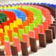 Blueway Ahşap 480 Parça Domino Taşı Eğlence Oyunu