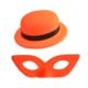 Partistok Neonlu Parti Şapkası Ve Maskesi 24 Adet
