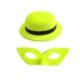 Partistok Neonlu Parti Şapkası Ve Maske Seti 24 Adet