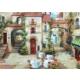 Puzz 68 x 48 cm - 1000 Parça Köy Meydanı Puzzle