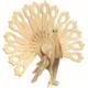 İdeal 3D Ahşap Maket Tavuskuşu