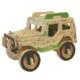 İdeal 3D Ahşap Maket Jeep