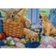 Falcon Playful Puppies, 1000 Parça Puzzle