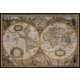 Jumbo World Map From 1630, 1500 Parça Puzzle