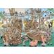 Jumbo Pieces Of History: Pirates, 1000 Parça Puzzle