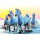 Educa Puzzle White Horses At Sunset 1000 Parça Puzzle