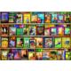 Educa Puzzle World Travel Guides 1000 Parça Puzzle