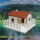 Greenmall Teraryum & Mini Bahçe İçin Ahşap Bahçeli Maket Ev - 1