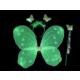 TveT Gösteri Kelebek Kanadı (3 Parça)-Yeşil