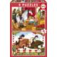Educa Puzzle Horse Grooming 2 X 48 Parça Karton Puzzle