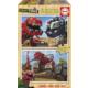 Educa Puzzle Dinotrux 2 X 25 Parça Ahşap Puzzle