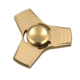 Ceptoys Stres Çarkı Üçlü Metal Hand Spinger Gold