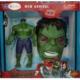 Avengers Hulk Modeli Ve Sesli Işıklı Maskesi