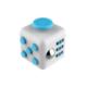 Practika Stres Küpü Mavi Beyaz - Fidget Cube Blue White