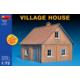 Miniart 1/72 Ölçek Plastik Maket, Köy Evi, Renkli Kit