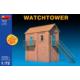 Miniart 1/72 Ölçek Plastik Maket, Gözetleme Kulesi, Renkli Kit