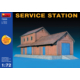 Miniart 1/72 Ölçek Plastik Maket, Servis İstasyonu, Renkli Kit