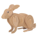 Wildlebend 3D Ahşap Puzzle - Tavşan