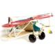 Arsevi Nostaljik Metal Uçak Çift Kanatlı (Kırmızı)