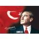 Keskin Color 99 Parça Çerçeveli Atatürk Yapboz (25X35 Cm)