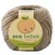 Eco Bebek Organik Pamuk El Örgü İpi - Açık Kahverengi