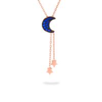 Azuris Ay Yıldız Kolye