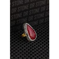 Dr Stone Doğaltaş -Kadın Ceyt Yüzük 20Ar486