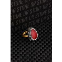 Dr Stone Doğaltaş -Kadın Ceyt Yüzük 20Ar489