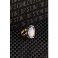 Dr Stone Doğaltaş -Kadın Aytaşı Yüzük 20Ar495