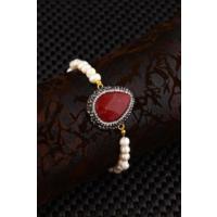 Dr Stone Doğaltaş -Kadın İnci Bileklik 20Ar499