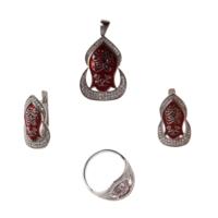 Zerbap Gümüş Set