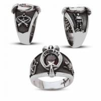 Anıyüzük Pençeli Jandarma Yüzüğü