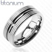 Chavin Bayan Erkek Vadi Model Titanyum Alyans Yüzük ca30