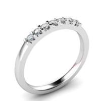 Chavin Yedi Taş Gümüş Bayan Yüzük ba65