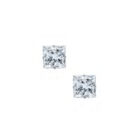 Chavin 3mm. Kare Zirkon Taşlı Çelik Unisex Küpe ag02-3